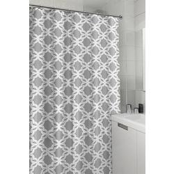 Trellis Shower Curtain With Hooks