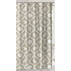 CHD Home Textiles Key West Shower Curtain With Hooks