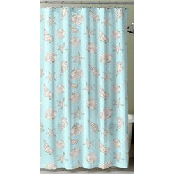 Miami Shower Curtain With Hooks