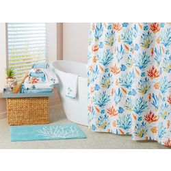 Coastal Home Coastline Shower Curtain