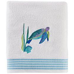 Saturday Knight Watercolor Ocean Bath Towel Collection