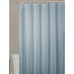 Zenna Home Waffle Shower Curtain