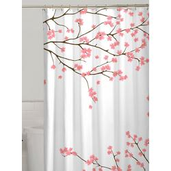 Cherry Blossoms Fabric Shower Curtain