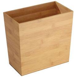 Interdesign Formbu Bamboo Rectangular Wastebasket