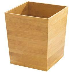 Interdesign Formbu Bamboo Wastebasket