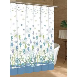 Seahorse & Reef Shower Curtain