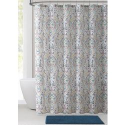 VCNY Home 14-pc. Damask Shower Curtain Bath Set