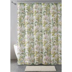 14-pc. Palm Leaf Shower Curtain Bath Set