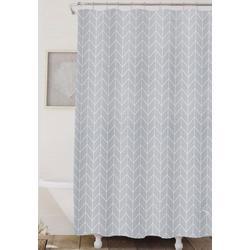 Geometric Arrows Shower Curtain