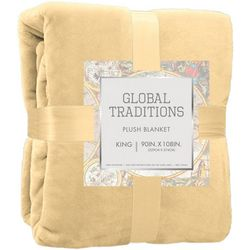 Dream Home Global Traditions Plush Blanket