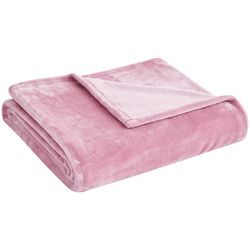 Majesty Home Solid Plush Throw