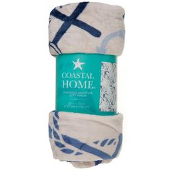 Coastal Home Anchor Oversized Signature Soft Throw