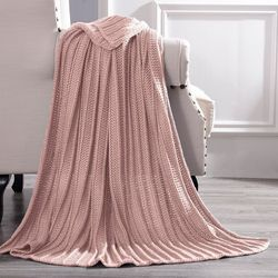 Symphony Metallic Knit Throw