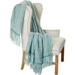 S.L. Home Fashions Doha Deluxe Fringe Throw