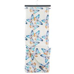 Butterflies Plush Throw
