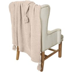 Hawthorne Park Chenille Tassel Throw