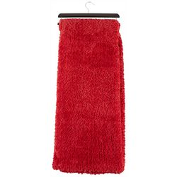 Thro Solid Faux Fur Throw