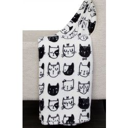 Thro Colton Cat Fleece Throw