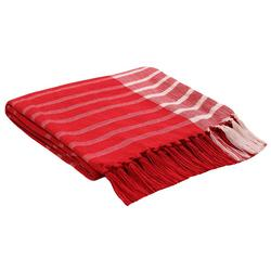 Holiday Stripe Throw