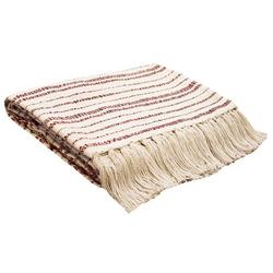 Holiday Striped Throw