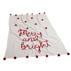 Mod Lifestyles Merry And Bright Throw