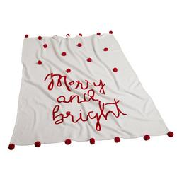 Merry And Bright Throw