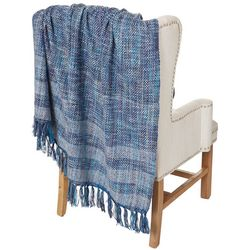Park B. Smith Woven Fringe Acrylic Throw