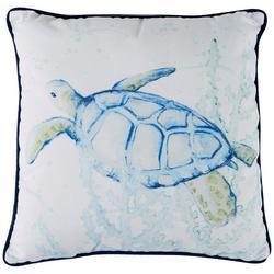 Sea Turtle Decorative Pillow