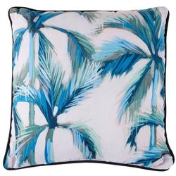 Manual Woodworkers Palm Trees Decorative Pillow