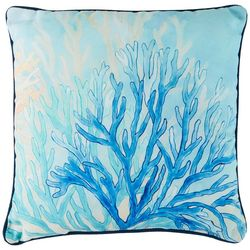 Manual Woodworkers Coral Reef Decorative Pillow