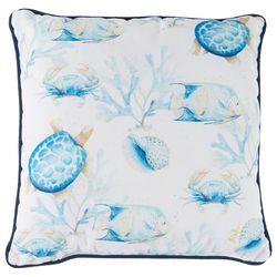 Manual Woodworkers Ocean Bleu Decorative Pillow