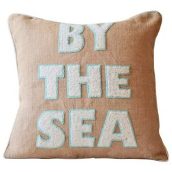 Debage Embroidered By The Sea Decorative Pillow