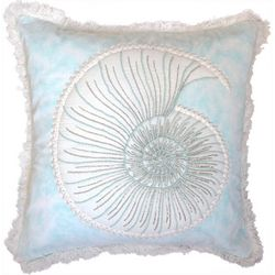 Debage Octopus Embroidered Nautilus Decorative Pillow
