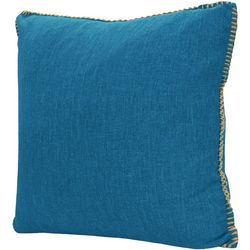 Dream Home Solid Whipstitch Decorative Pillow