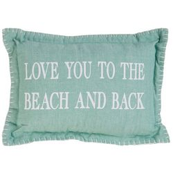 Park B. Smith Love You To The Beach & Back Decorative Pillow