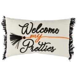 Welcome My Pretties Decorative Pillow