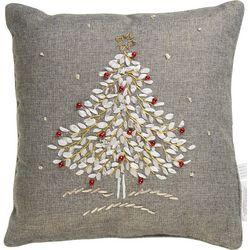 Holiday & Pet Christmas Tree Decorative Pillow