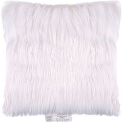 Sedona House Faux Fur Solid Decorative Pillow