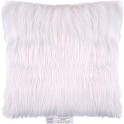 Faux Fur Solid Decorative Pillow