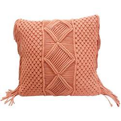 Macrame Crochet Fringe Decorative Pillow
