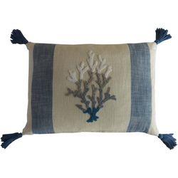 Better Trends Coral Stripe Decorative Pillow