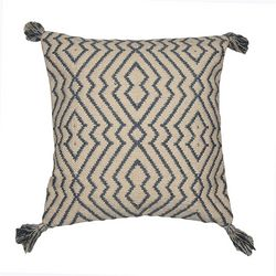 Better Trends Geometric Tassel Decorative Pillow