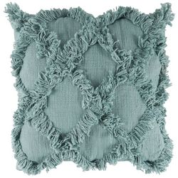 Better Trends Diamond Fringe Decorative Pillow