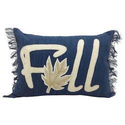 Fall Fringe Decorative Pillow