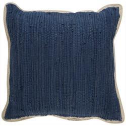 Solid Braided Trim Decorative Pillow