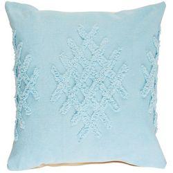 LR Resources Diamond Lattice Tufted Decorative Pillow