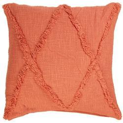 Cross Tuffed Decorative Pillow