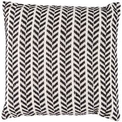 LR Resources Chevron Stitched Decorative Pillow