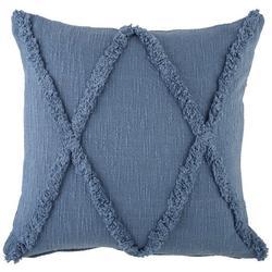 Cross Tufted Decorative Pillow