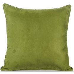 Faux Suede Decorative Pillow